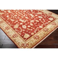 Hand-knotted Antolya New Zealand Wool Area Rug - 8' Round