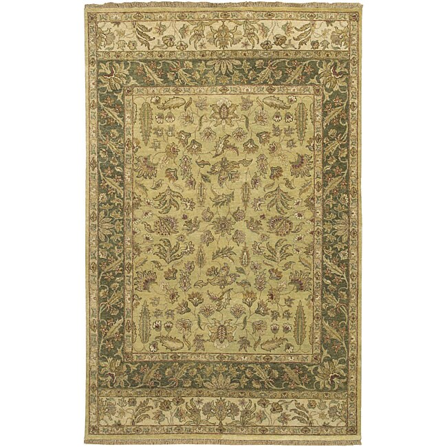 Hand-knotted New Zealand Wool Rug (3'9 x 5'9)