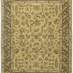 Hand-knotted New Zealand Wool Rug (3'9 x 5'9) - Thumbnail 1