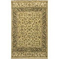 Hand-knotted New Zealand Wool Area Rug (3'9 x 5'9) - 3'9 x 5'9