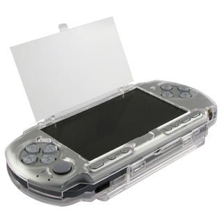 Insten Clear Clip on Crystal Case for Sony PSP 3000