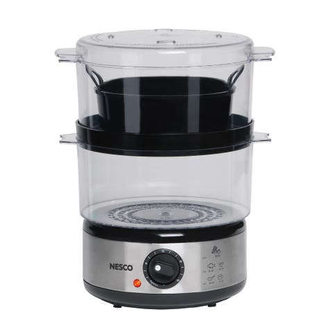 Nesco ST-25 5-quart 2-tray Food Steamer