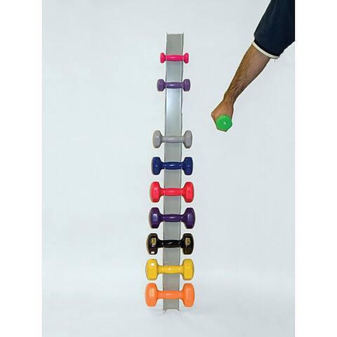 Dycem Vinyl-coated Dumbbell Rack