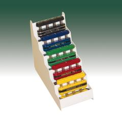 Cando Digi-Flex Hand Exerciser Metal Rack for 5-piece Set
