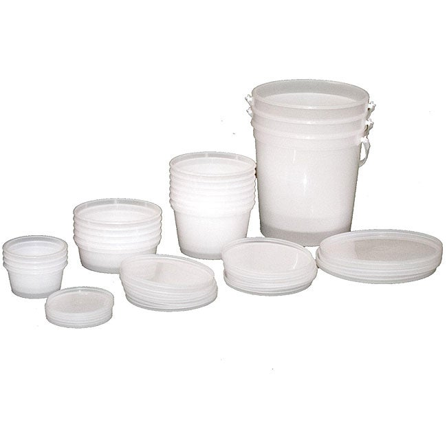 Cando Theraputty Extra Containers (Set of 10) - Thumbnail 0
