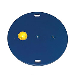 Cando MVP 30-inch Wobble Board with Extra-easy Yellow Hemisphere