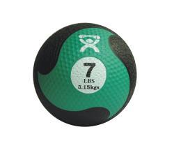 Cando Rubber 7-pound Medicine Ball - Thumbnail 2