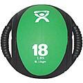 Cando 18-pound Dual-handle Green Medicine Ball