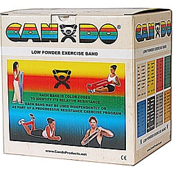 Cando XX-light 50-yard Tan Low Powder Exercise Band