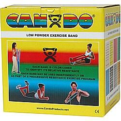 Cando Yellow X-light 50-yard Low Powder Exercise Band