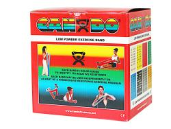 Cando Red Light 50-yard Low-powder Exercise Band