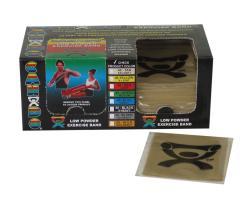 Cando Tan Latex 4-foot Exercise Bands (Pack of 40) - Thumbnail 2