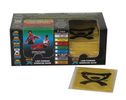 Cando Yellow Latex Exercise Bands 4-Foot Strips (Pack of 40) - Thumbnail 1