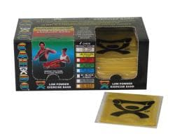 Cando Yellow Latex Exercise Bands 4-Foot Strips (Pack of 40) - Thumbnail 2