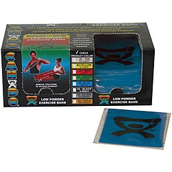 Cando Blue Latex 4-foot Strip Exercise Bands (Pack of 40)