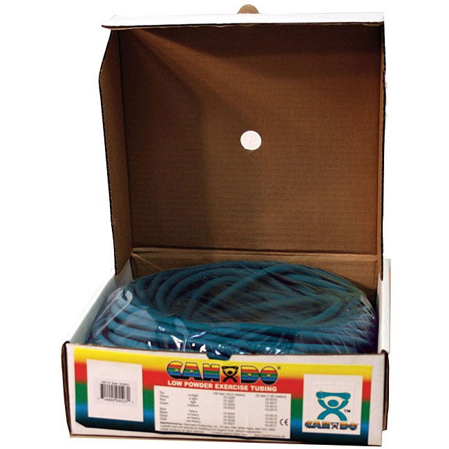 Cando Low-powder 100-foot Blue Heavy Exercise Tubing