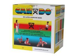 Cando No-latex 50-yard Yellow X-light Exercise Band