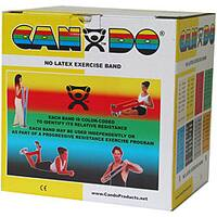 Cando No-latex 50-yard Yellow X-light Exercise Band