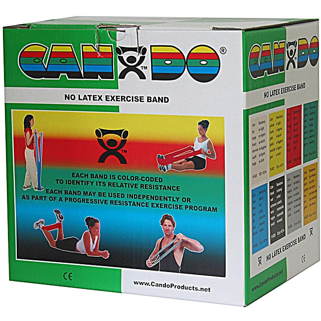 Cando 50-yard Green Medium Exercise Band