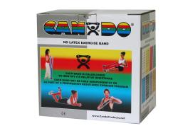 Cando 50-yard Silver XX-heavy Exercise Band - Thumbnail 1