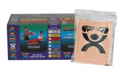 Cando Tan No-latex 4-foot Strip Exercise Bands (Pack of 40)