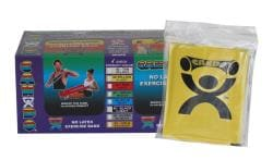 Cando Yellow No-latex 4-foot Strip Exercise Bands (Pack of 40) - Thumbnail 1
