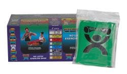 Cando Green No-latex 4-foot Strips Exercise Bands (Pack of 40)