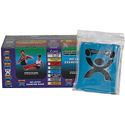 Cando Blue No-latex 4-foot Strip Exercise Bands (Pack of 40)