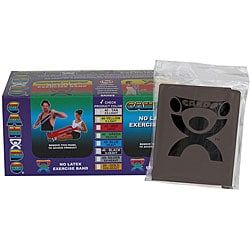 Cando Black No-latex 4-foot Strip Exercise Bands (Pack of 40)