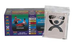 Cando Silver No-latex 4-foot Strip Exercise Bands (Pack of 40) - Thumbnail 2