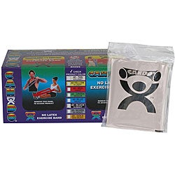 Cando Silver No-latex 4-foot Strip Exercise Bands (Pack of 40) - Thumbnail 0