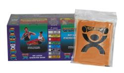 Cando Gold No-latex 4-foot Strip Exercise Bands (Pack of 40) - Thumbnail 2