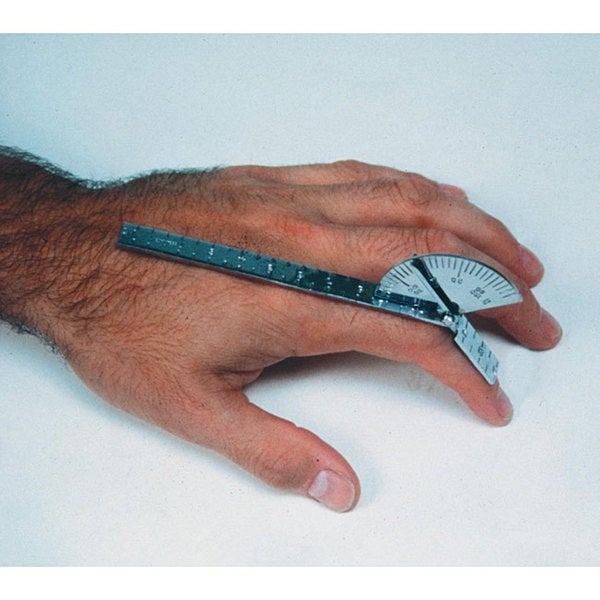Baseline Stainless Steel 6-inch Finger Goniometer
