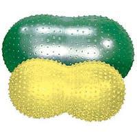 Cando Inflatable 16-inch Yellow Exercise Sensi-Saddle Roll