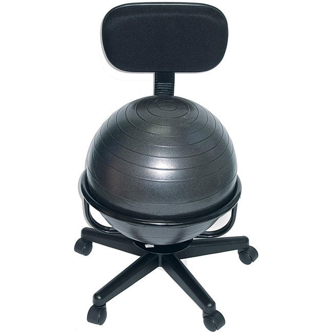 Shop Cando Ball Office Chair Free Shipping Today Overstock 4455349