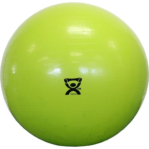 Cando Inflatable 59-inch Lime Green Exercise Sensi-ball