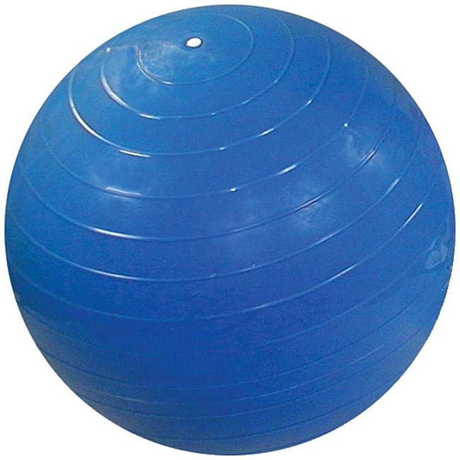Cando Blue Inflatable Exercise Ball - Thumbnail 0