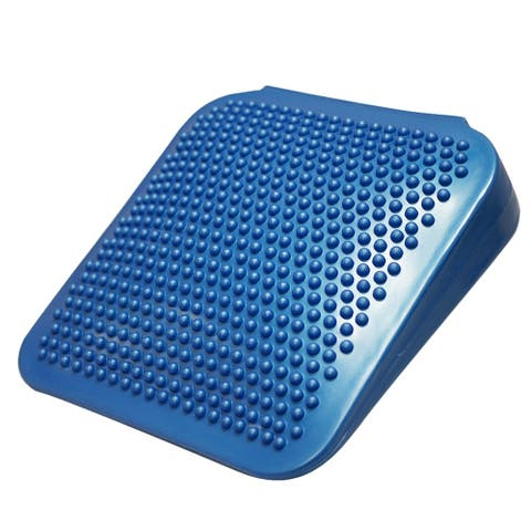 "CanDo Sitting Wedge Active Seat Wobble Cushion for Posture, Back Pain, Stress Relief, and Restlessness. Adult Size, 15"" x 15"""