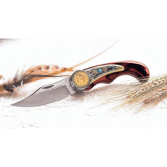 American Coin Treasures Racketeer Nickel Pocket Knife
