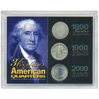 American Coin Treasures American Quarters Three Century Display