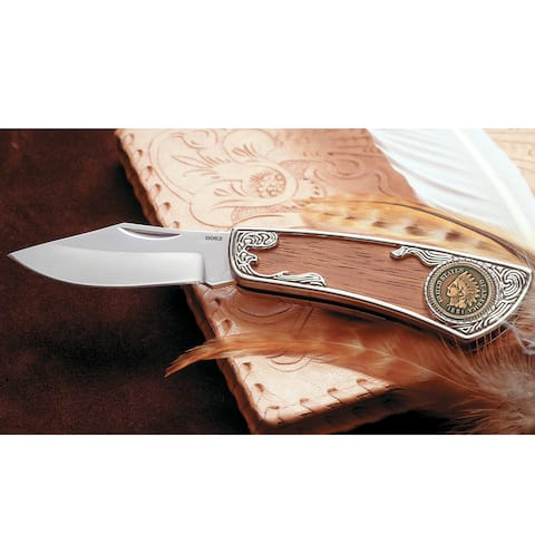 American Coin Treasures Century-old Indian Head Penny Pocket Knife