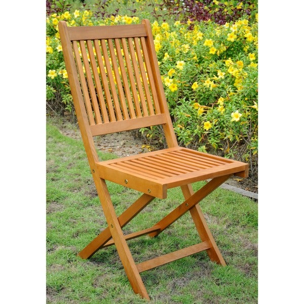 International Caravan Royal Tahiti Folding Chairs (Set of 2)