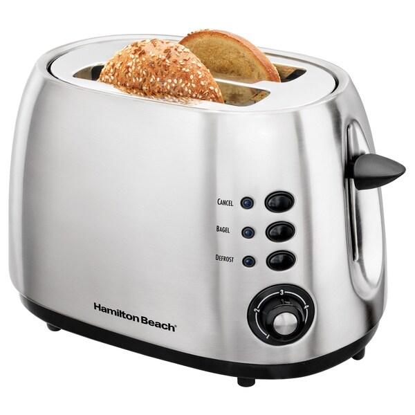 Hamilton Beach 22504 Stainless Steel 2-slice Toaster