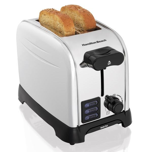 Hamilton Beach 22601 Perfect Toast 2 Slice Chrome Toaster