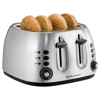 Hamilton Beach 24504 Stainless Steel 4-slice Toaster