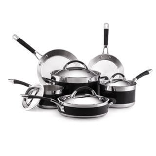 Anolon Ultra Clad Stainless Steel 10-piece Cookware Set
