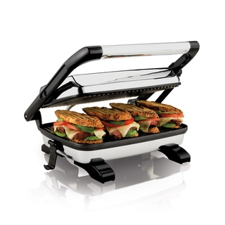 Hamilton Beach 25450 Panini Press Gourmet Sandwich Maker