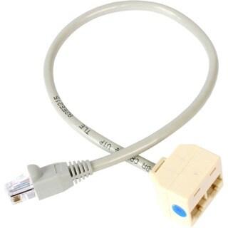 StarTech.com 2-to-1 RJ45 Splitter Cable Adapter - Network splitter -