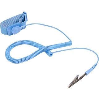 StarTech.com ESD Anti Static Wrist Strap Band with Grounding Wire - A