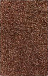 Hand-woven Contemporary Mandara Shag Rug (5' x 7'6)